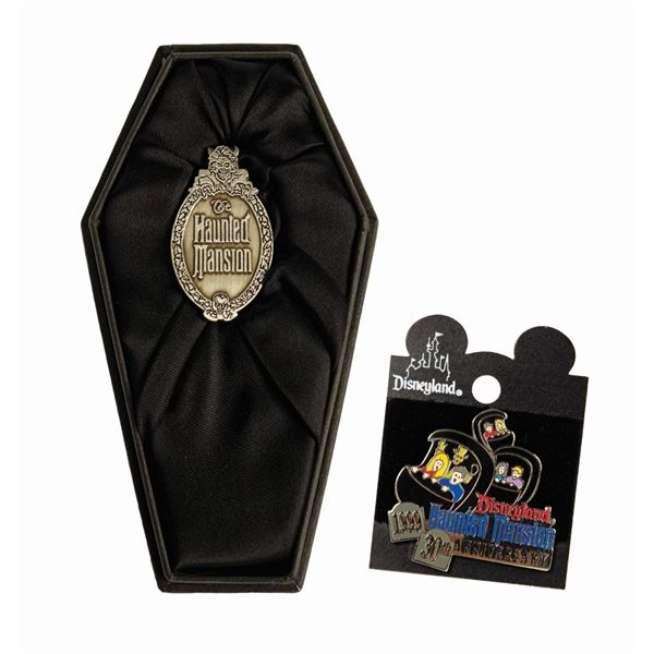 Pair of Haunted Mansion 30th Anniversary Pins.