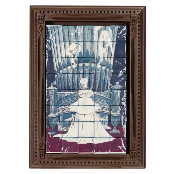 Haunted Mansion 40th Anniversary Tabletop Block Puzzle.
