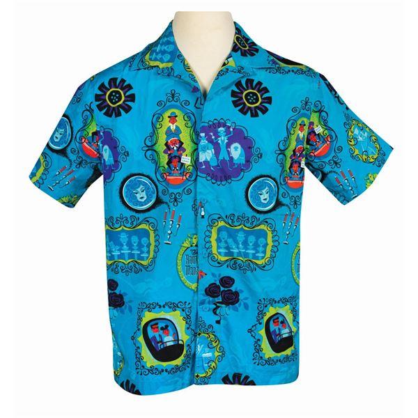 Shag Haunted Mansion 50th Anniversary Hawaiian Shirt.