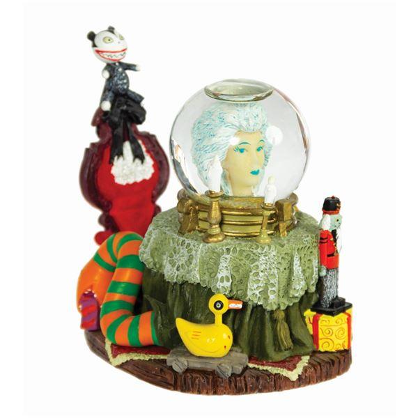 Madame Leota Haunted Mansion Holiday Snow Globe.