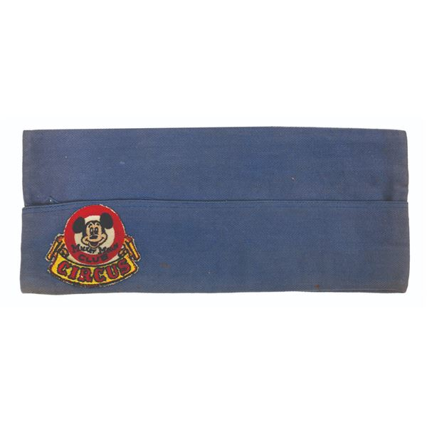 Mickey Mouse Club Circus Cast Member Garrison Cap.