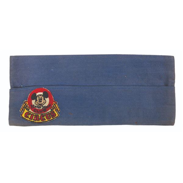 Mickey Mouse Club Circus Cast Member Garrison Cap.