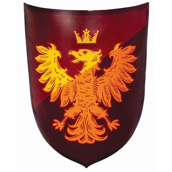 Fantasyland Eagle Shield Sign.
