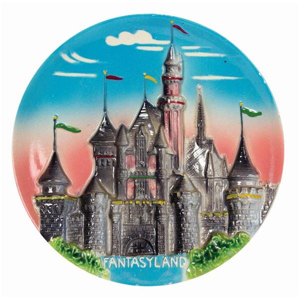 Fantasyland 3D Wall Plate.