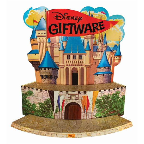 Disney Giftware Castle Store Display.