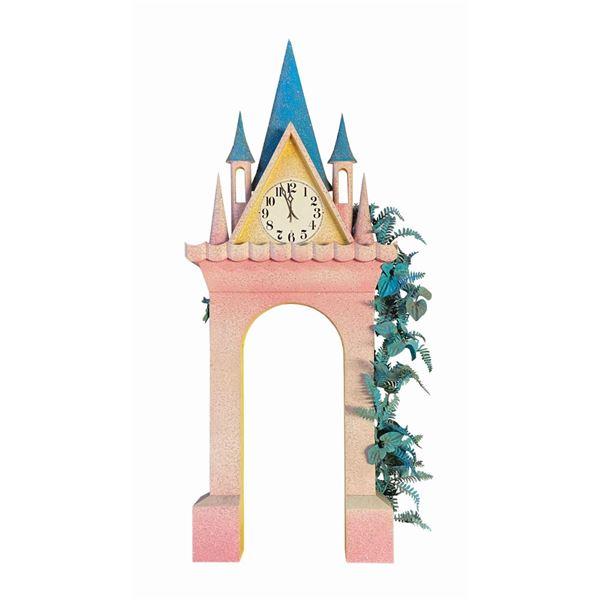Sleeping Beauty Castle Clock Façade.