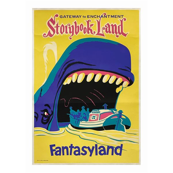 Storybook Land Attraction Poster.
