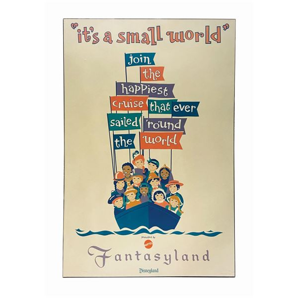 It's a Small World Photographic Attraction Poster.