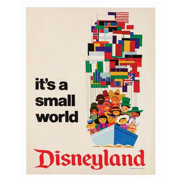 It's a Small World Poster.