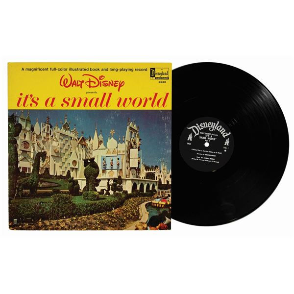 It's a Small World Book and LP.