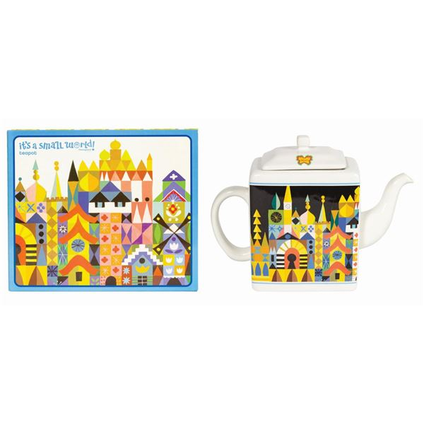 It's a Small World 50th Anniversary Teapot.
