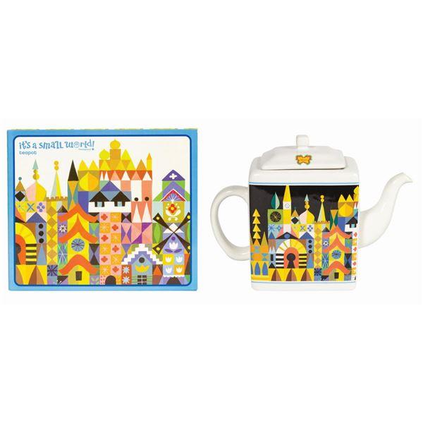 It's a Small World 50th Anniversary Teapot.