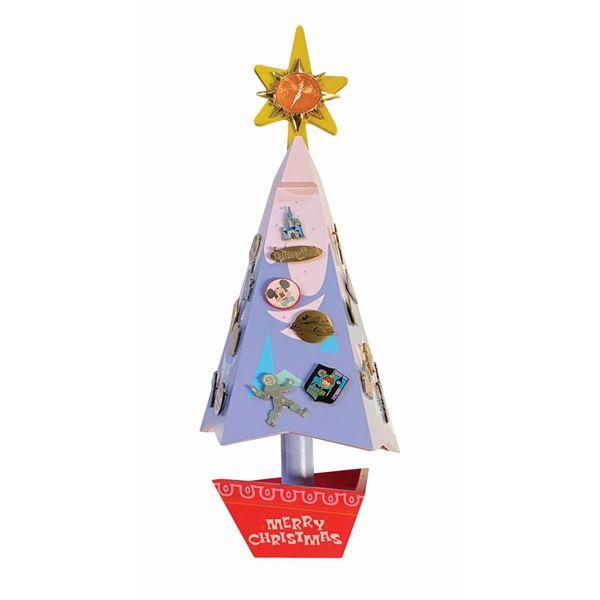 Matterhorn Christmas Tree Musical Pin Advent Calendar.