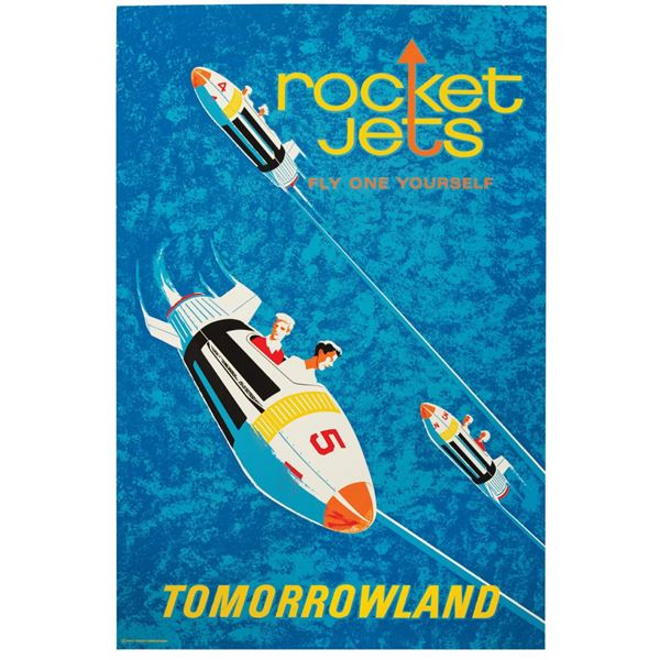 Rocket Jets Attraction Poster.