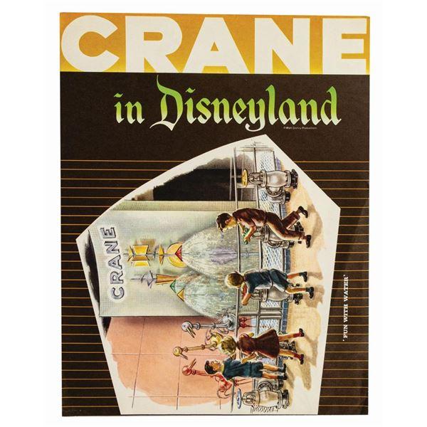 Crane in Disneyland Brochure.
