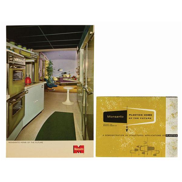 Monsanto House of the Future Postcard and Brochure.