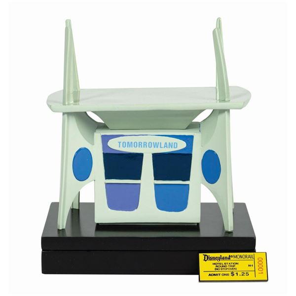 Tomorrowland Ticket Booth Model.