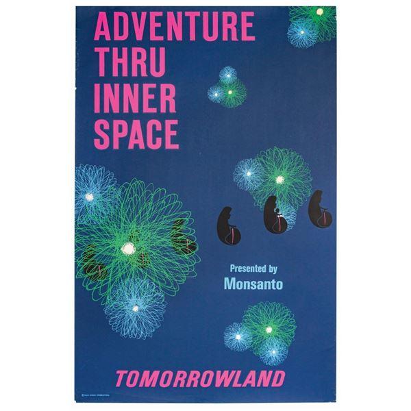 Adventure Thru Inner Space Attraction Poster.