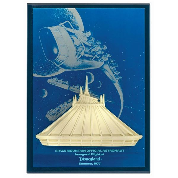 Milt Albright's Space Mountain Inaugural Flight Gift.