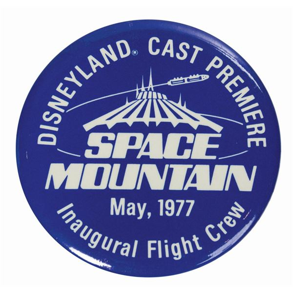 Set of (3) Space Mountain Cast Premiere Items.