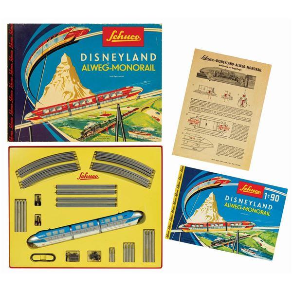 Disneyland Alweg-Monorail Set.