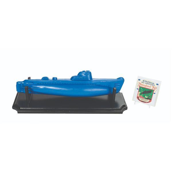 Blue Nautilus Submarine Voyage Bath Toy.