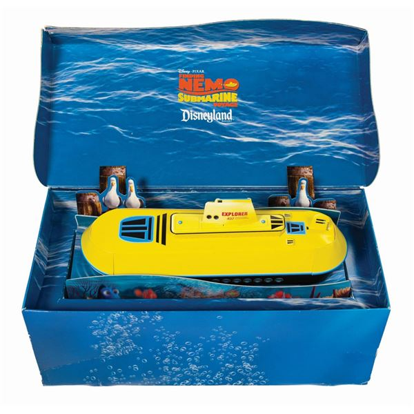 Finding Nemo Submarine Voyage Pop-Up Press Invitation.