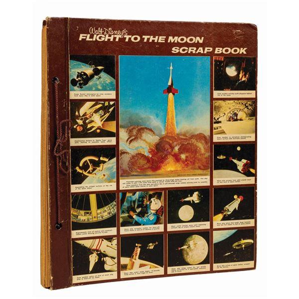 Flight to the Moon Scrapbook.