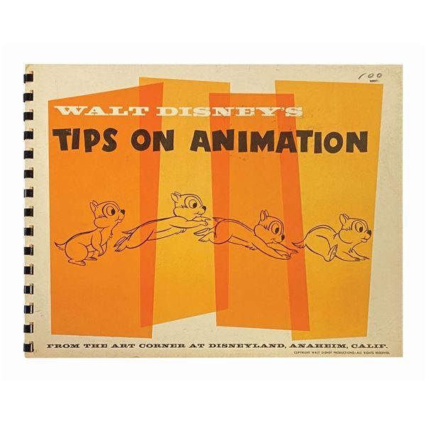 """Walt Disney's Tips on Animation"" Office Sample."