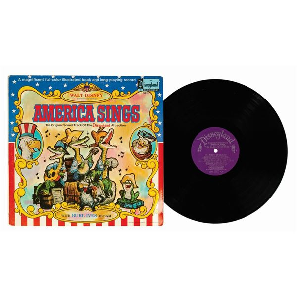 America Sings Soundtrack Book and LP.