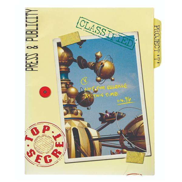 """""""Project T"""" New Tomorrowland Press Kit."""