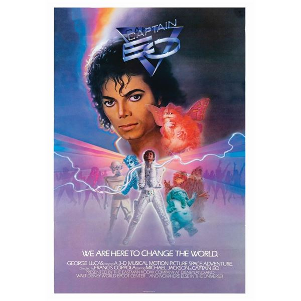 Captain EO Attraction Poster.