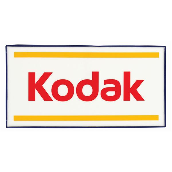 Kodak Captain EO Tribute Park Sign.