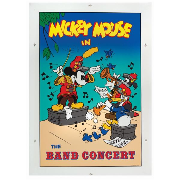 Mickey's House The Band Concert Poster.