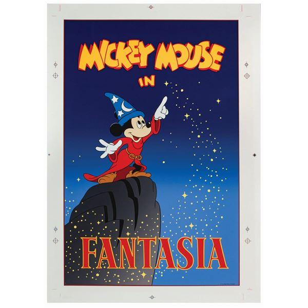 Mickey's House Fantasia Poster.