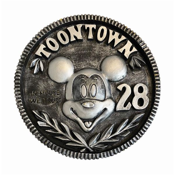 Mickey's Toontown Prop Coin.