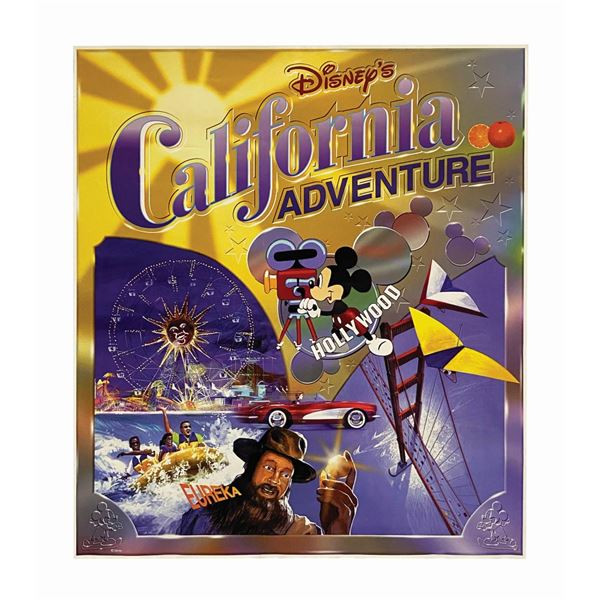 California Adventure Opening Day Poster.