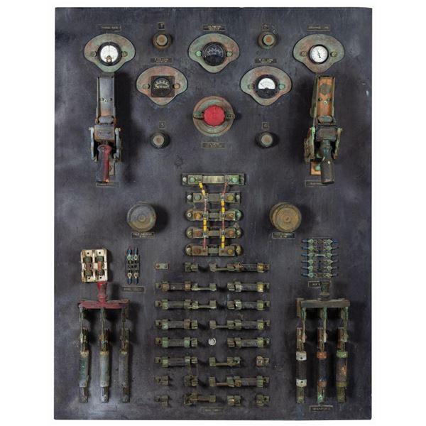 Tower of Terror Control Panel Prop.