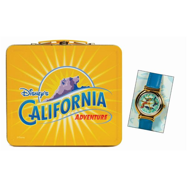 King Triton's Carousel of the Sea Watch in Lunchbox.