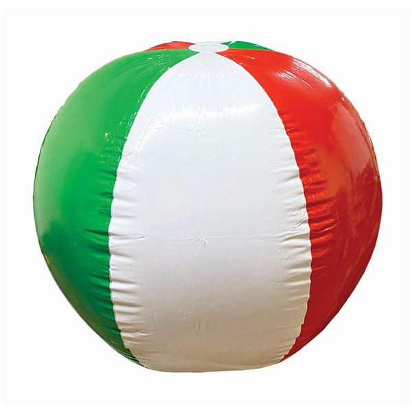 Luigi's Flying Tires Beach Ball Prop.