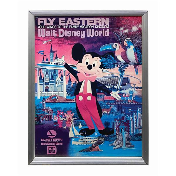 Eastern Airlines Mickey Travel Poster.