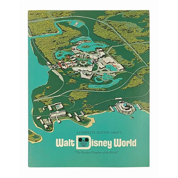 """""""A Complete Edition About Walt Disney World"""" Booklet."""