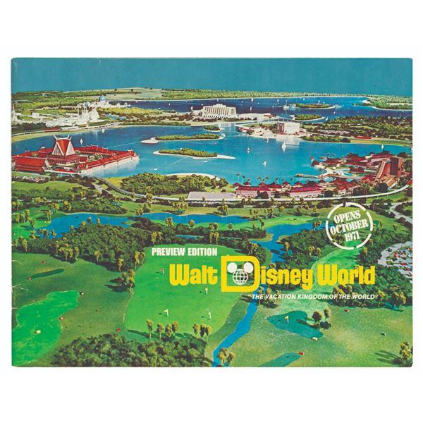 Walt Disney World Preview Edition Guidebook.