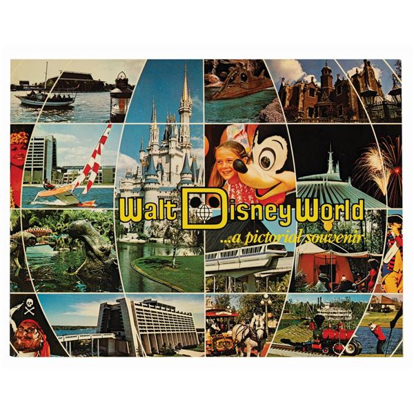 """Walt Disney World… a Pictorial Souvenir"" Guidebook."