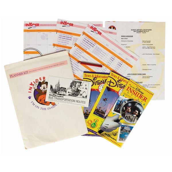 Walt Disney World Insider Tips Planner Kit.