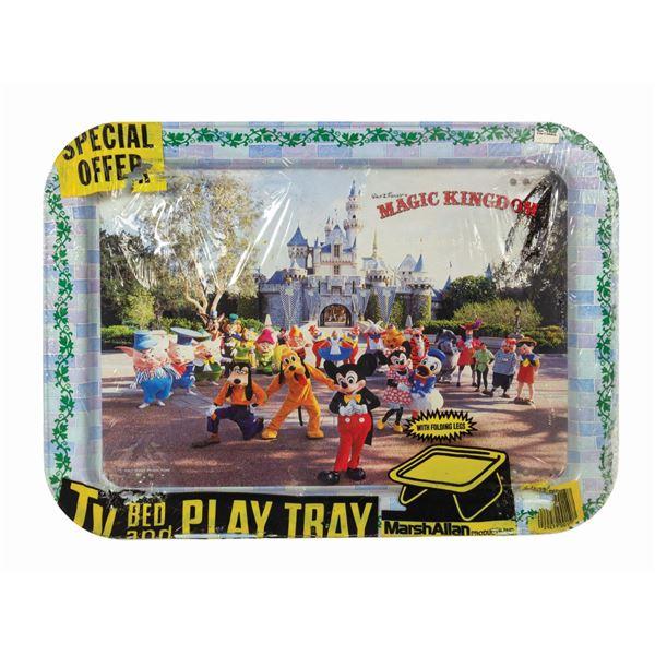 Walt Disney's Magic Kingdom TV, Bed, and Play Tray.