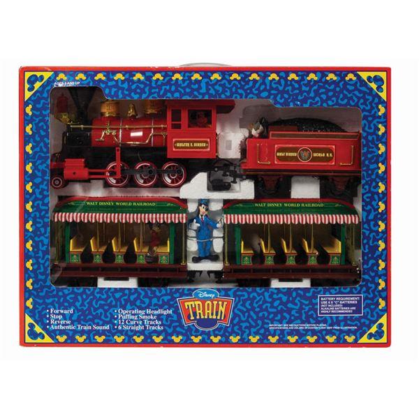 Walt Disney World Toy Train in Box.