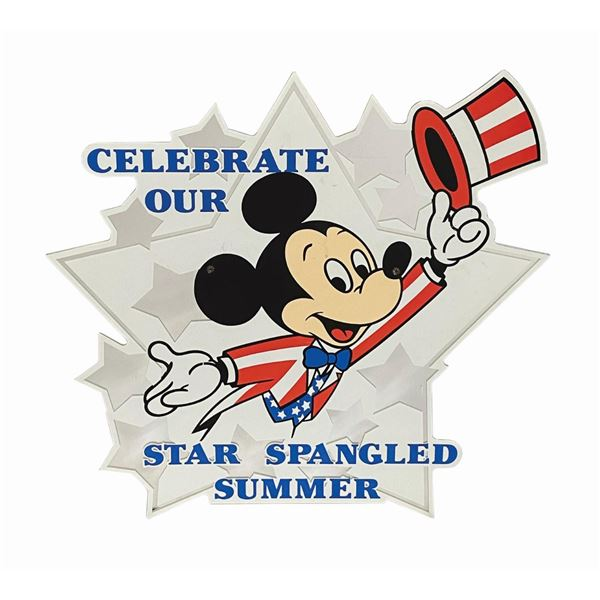 Celebrate Our Star Spangled Summer Sign.