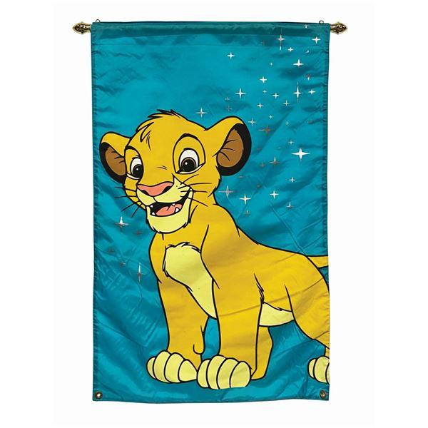 Walt Disney World Simba Banner.