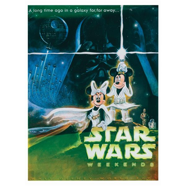 Star Wars Weekends 2004 Event Poster.
